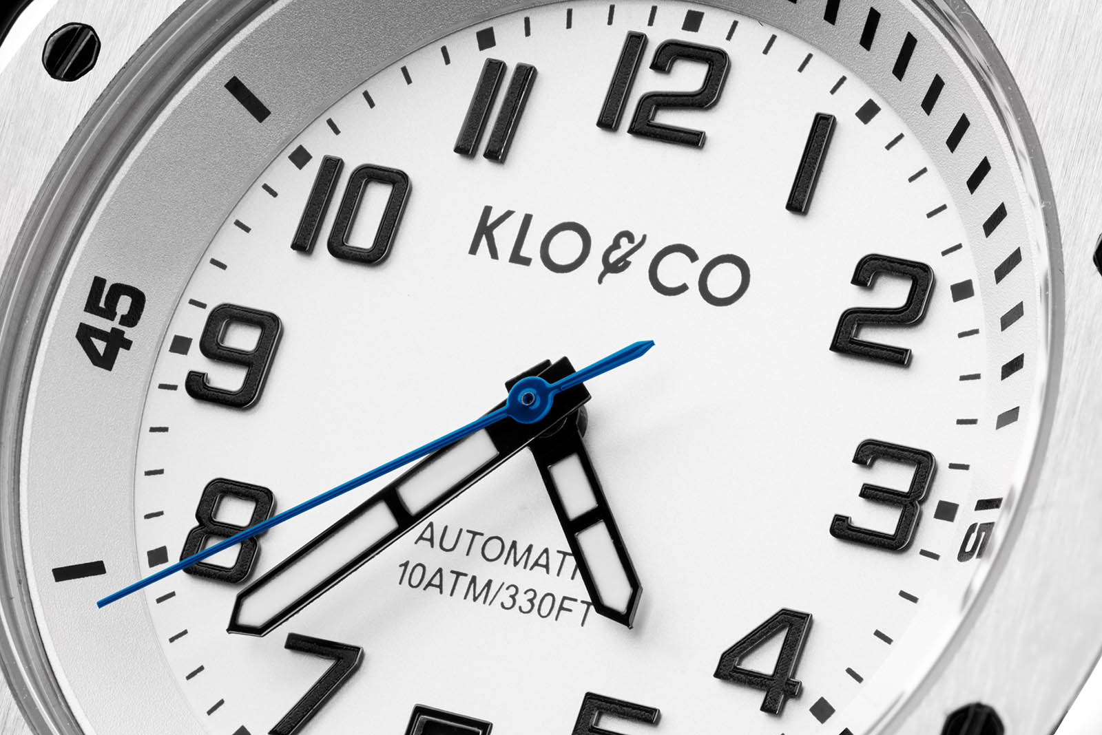 Klo & Co. Alpesailer White Dial Detail