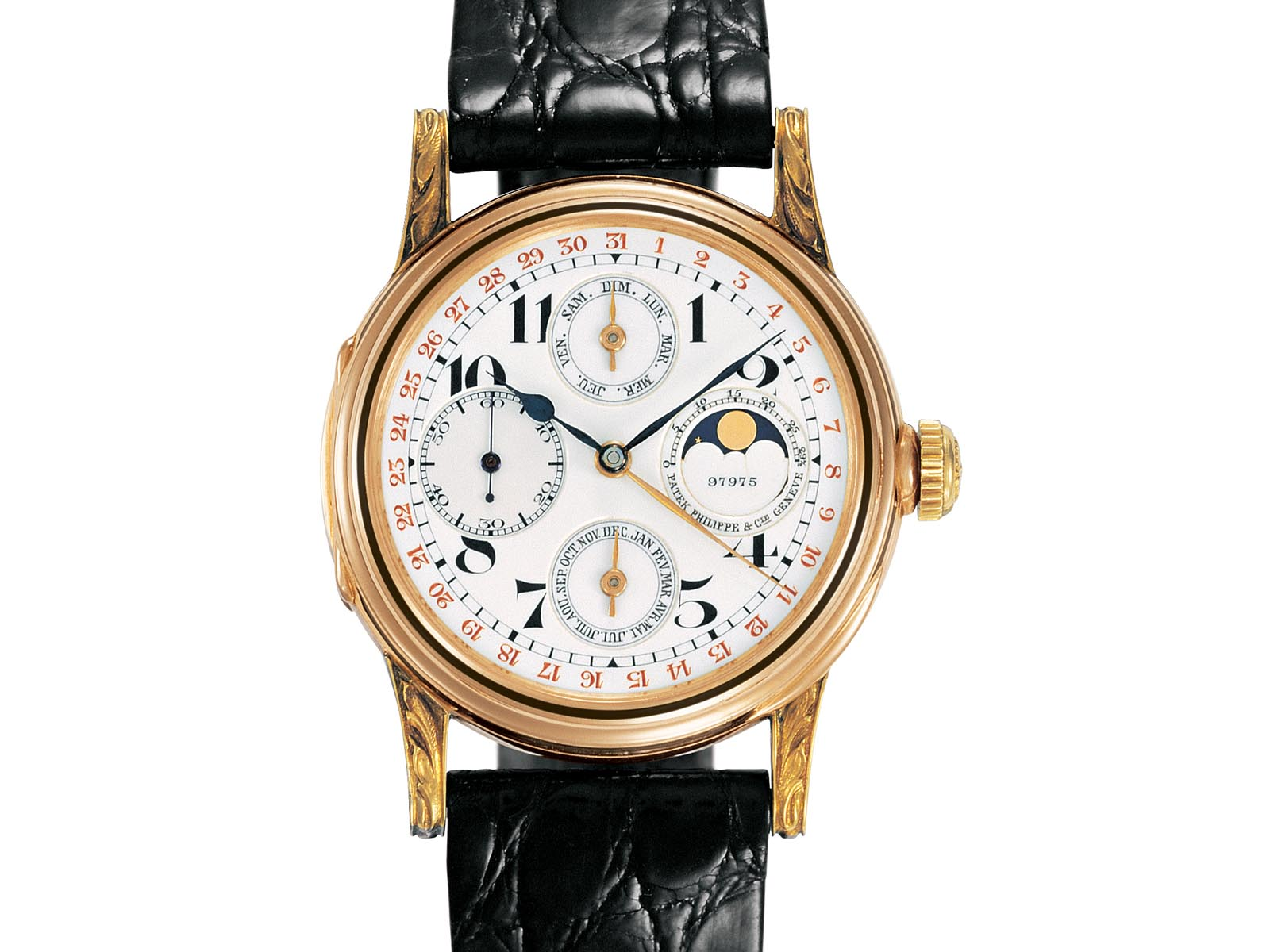Patek Philippe First Perpetual Calendar Wristwatch