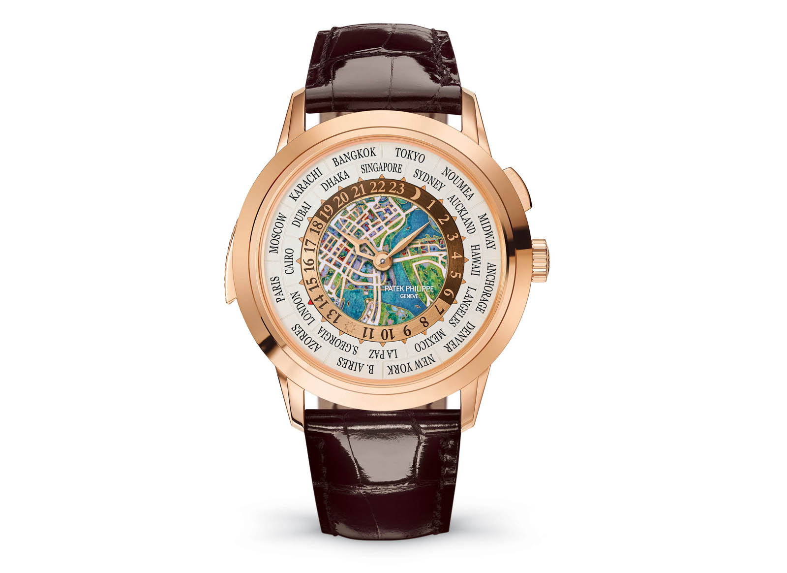 Patek Philippe World Time Minute Repeater Singapore 2019 Ref. 5531R