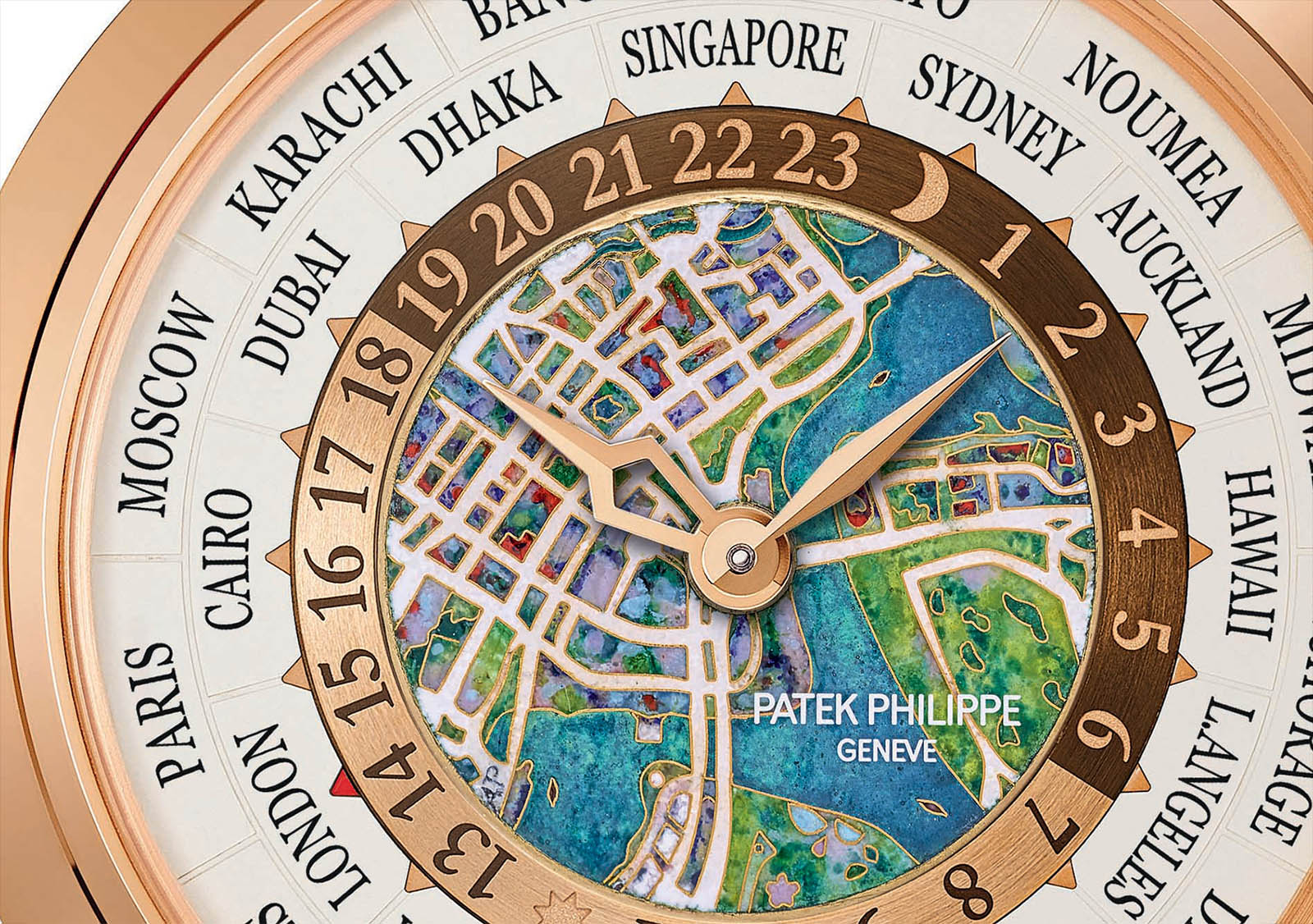 Patek Philippe_World Time Minute Repeater Singapore 2019 Ref. 5531R