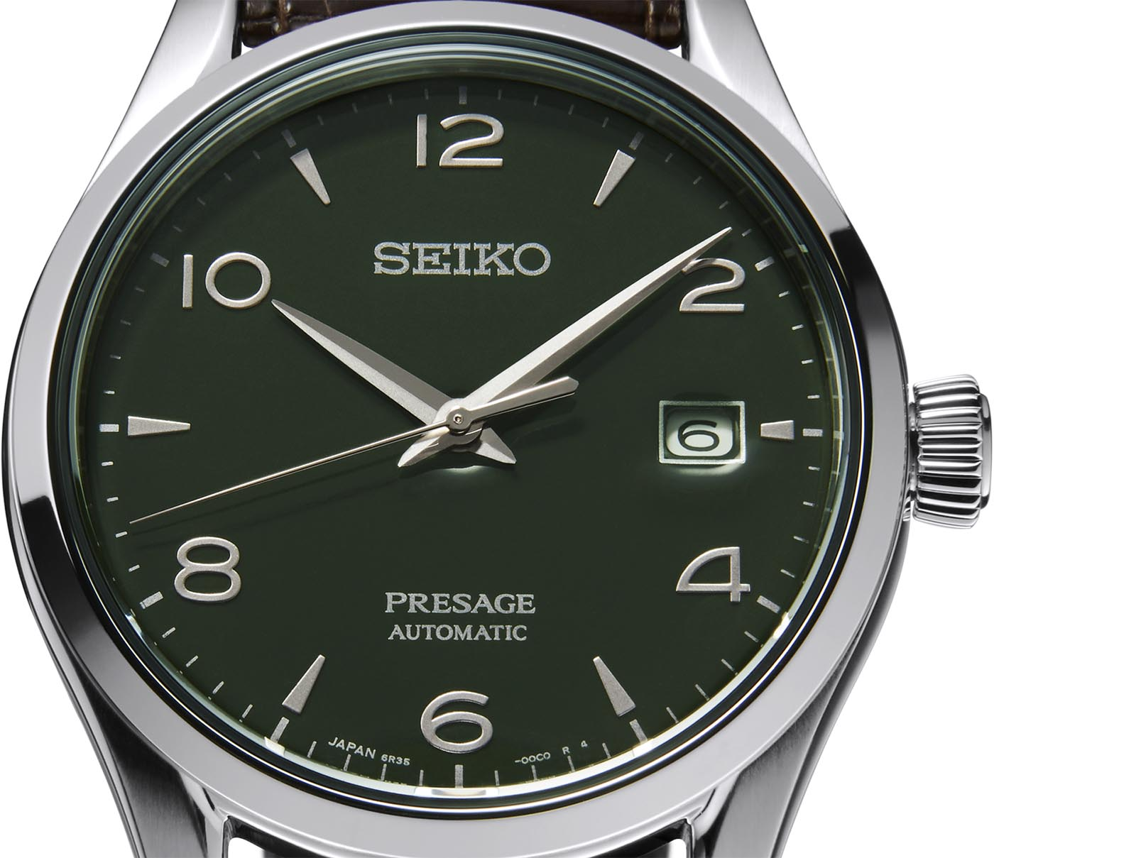 Seiko Presage Green Enamel Dial Limited-Edition SPB111J1