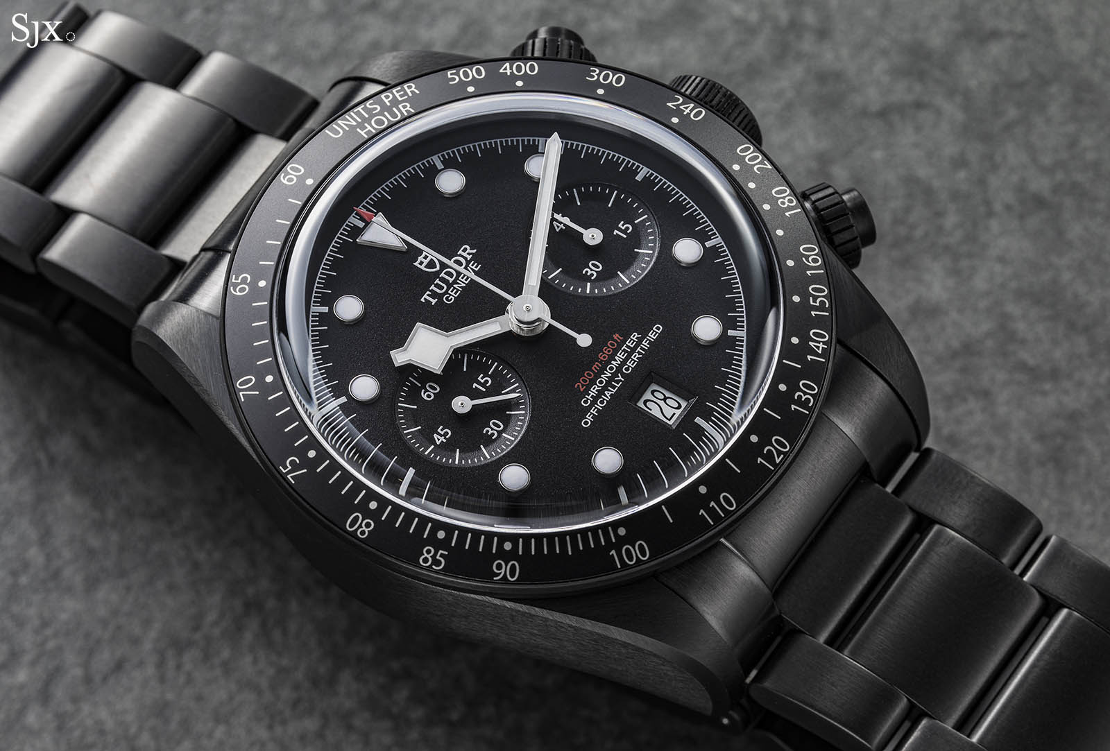 Tudor Black Bay Dark Chrono 2