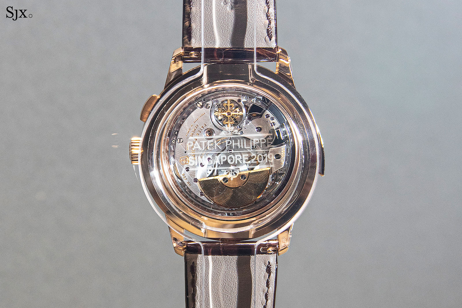 patek Minute Repeater World Time ref. 5531R singapore back