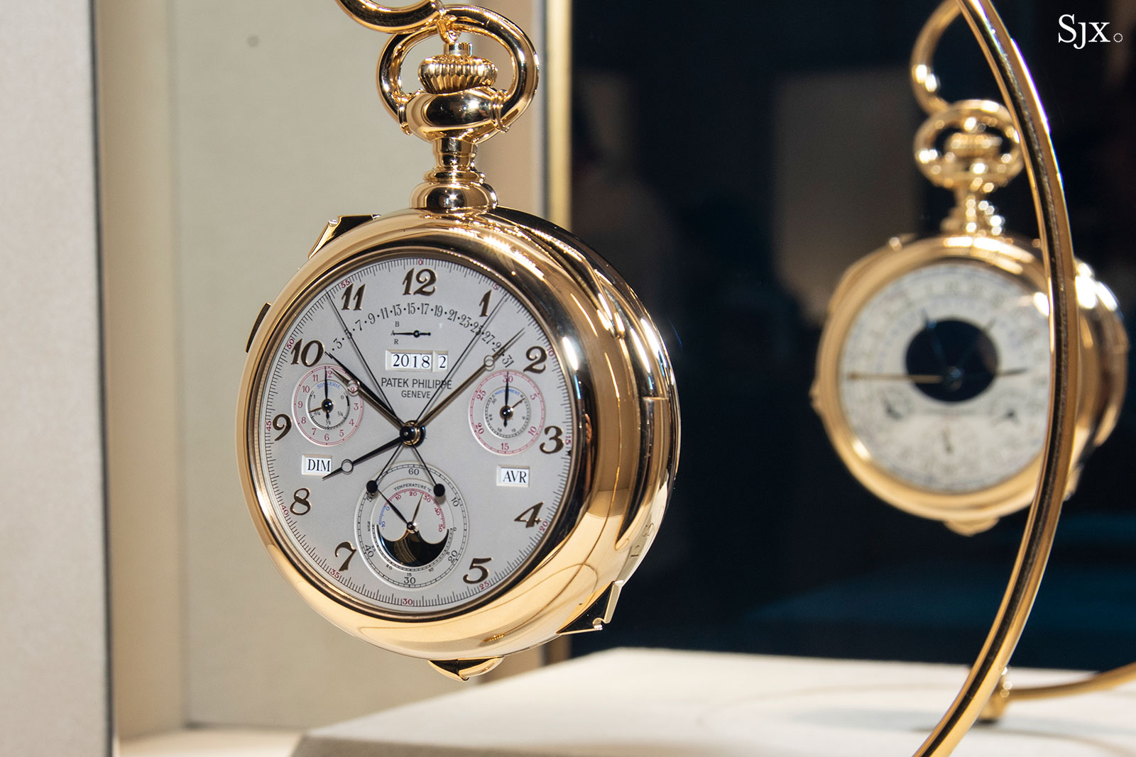 patek philippe grand exhibition singapore 2019 cal 89