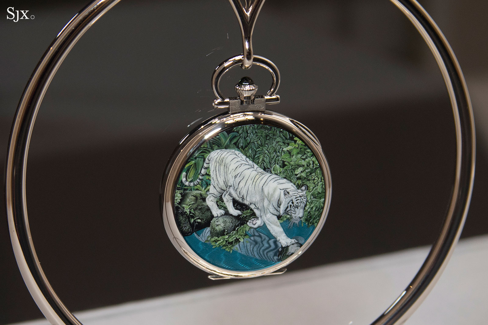 patek philippe grand exhibition singapore 2019 white tiger