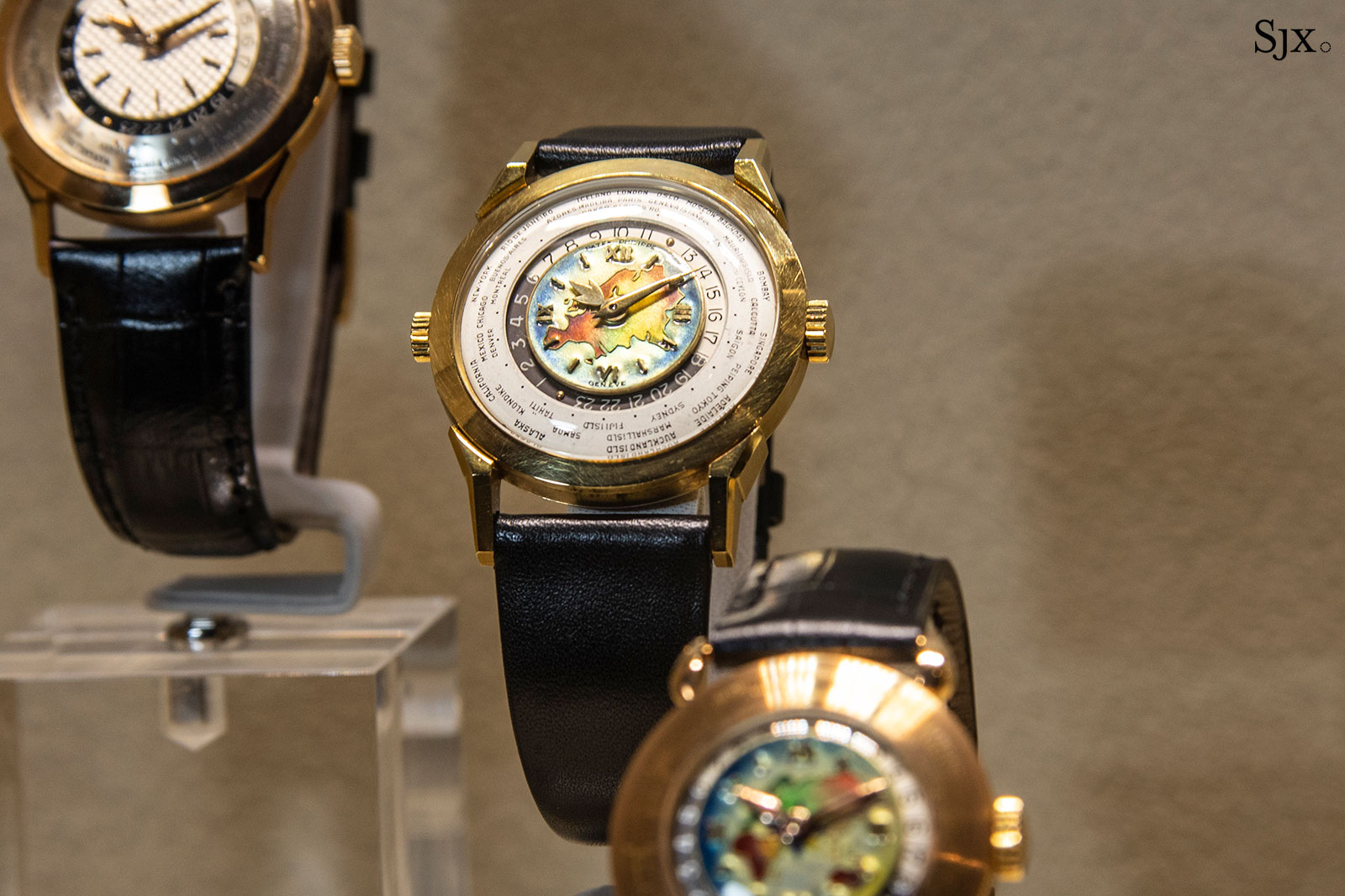 patek philippe grand exhibition singapore 2019 world time