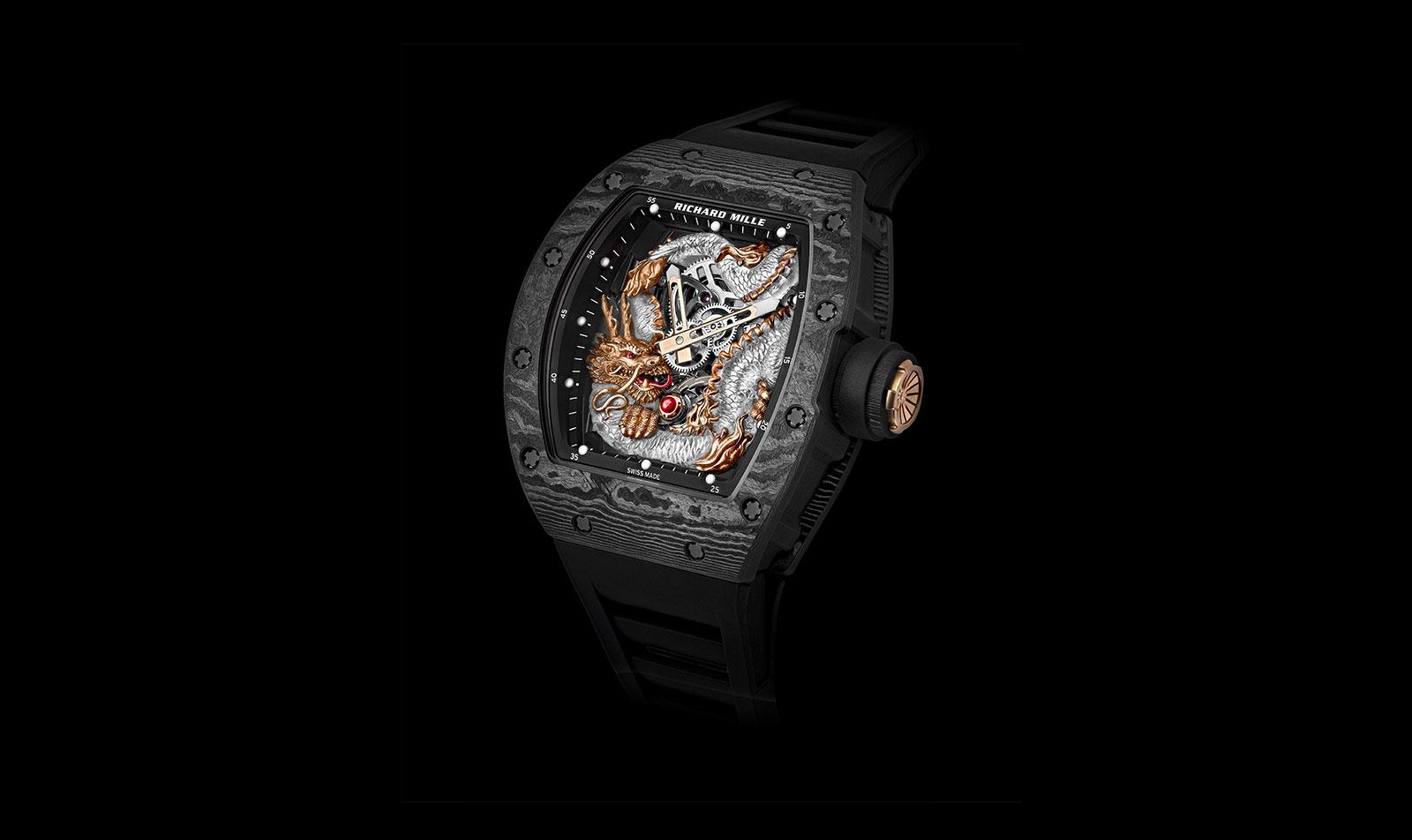 richard mille RM 57-03 Tourbillon Sapphire Dragon 10