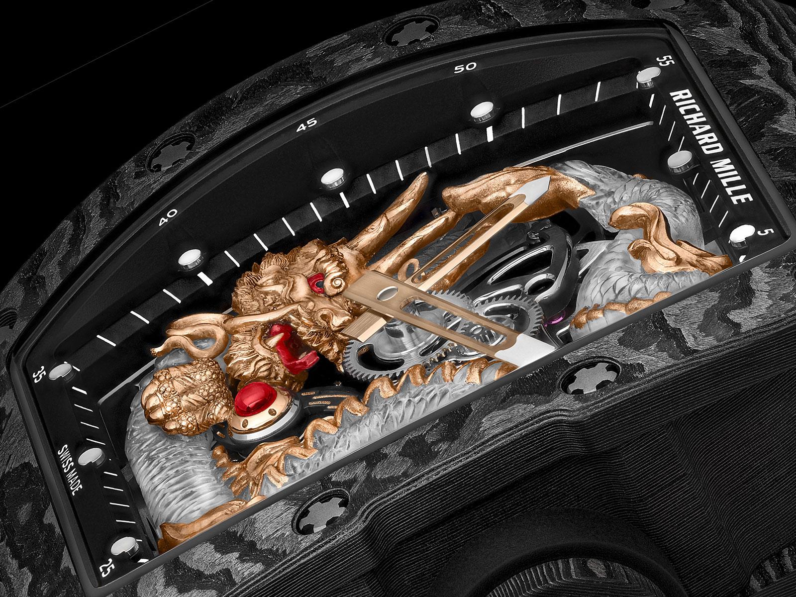 richard mille RM 57-03 Tourbillon Sapphire Dragon 4