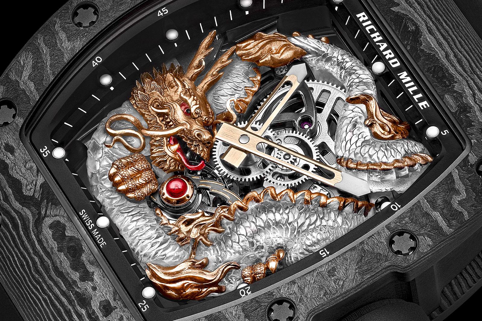 richard mille RM 57-03 Tourbillon Sapphire Dragon 9