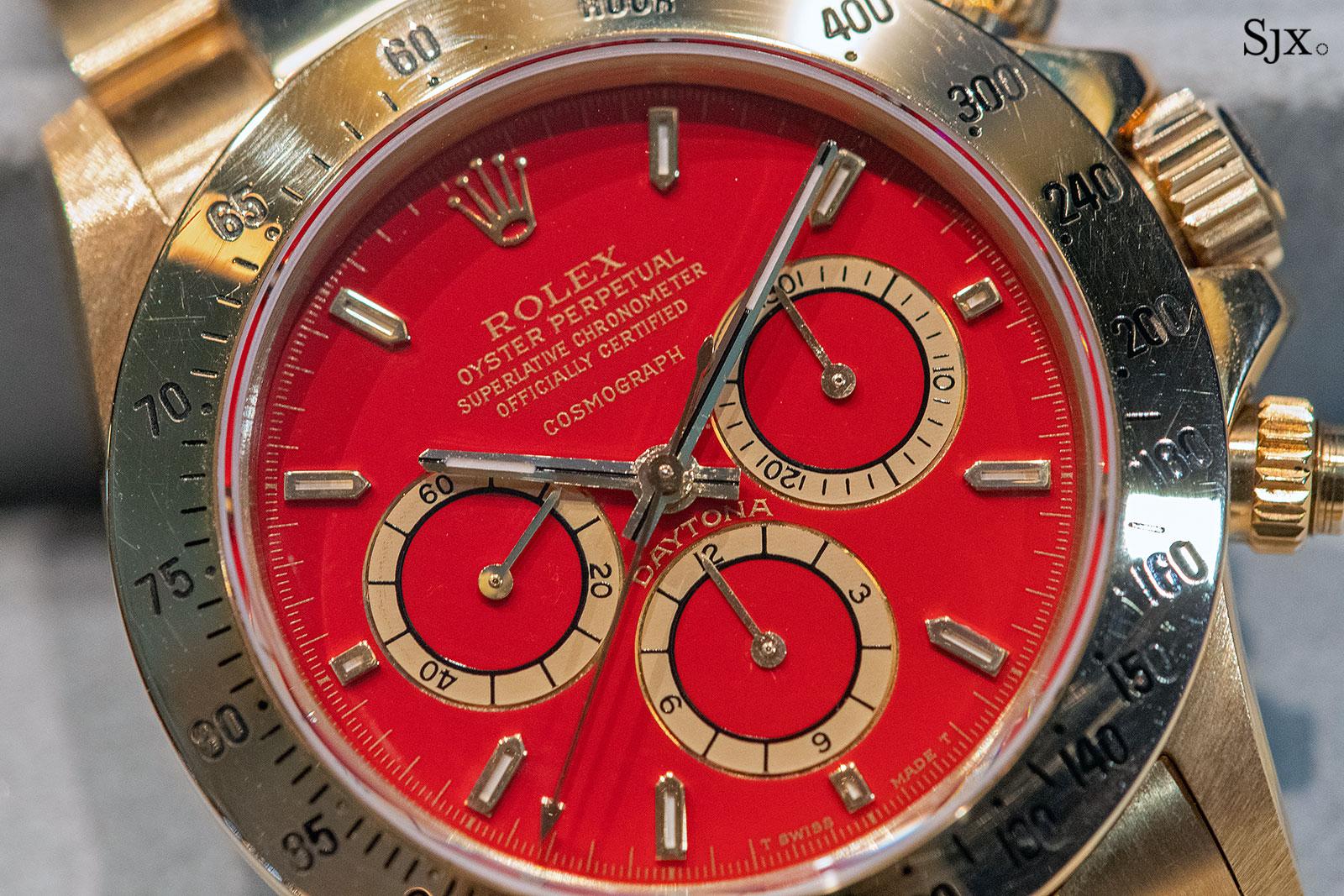 rolex daytona zenith red sothebys 7