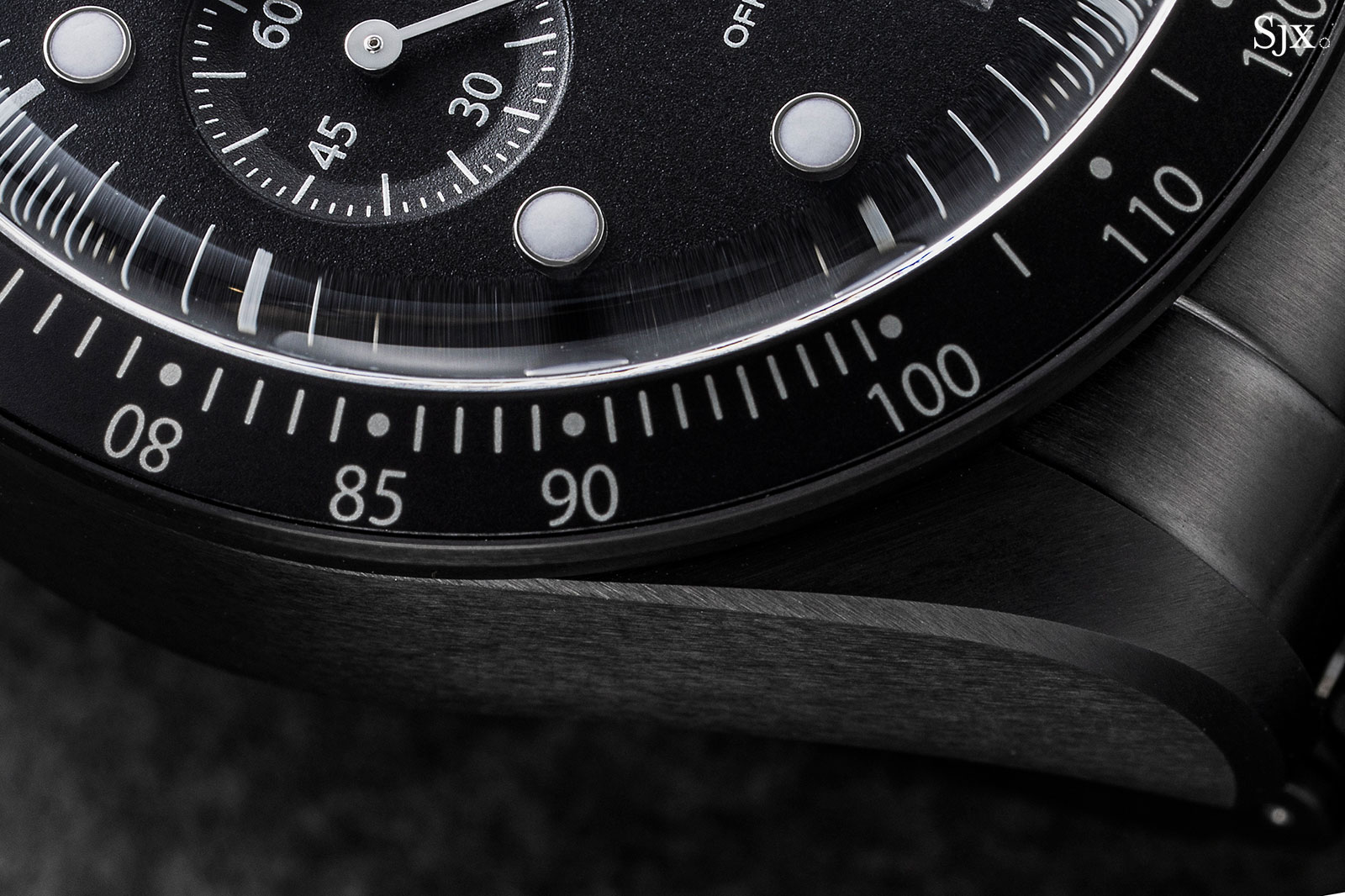 tudor black bay chrono dark all blacks 1