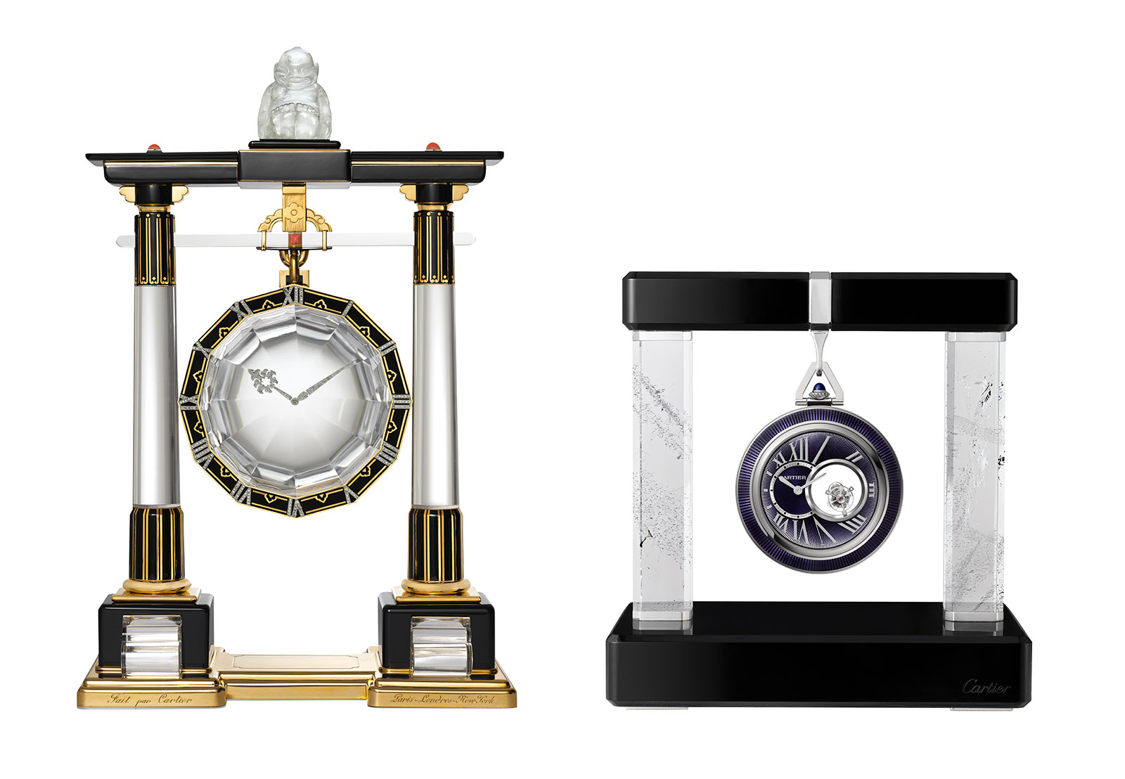 CARTIER Crystallisation Of Time Tokyo 2019 mystery clock