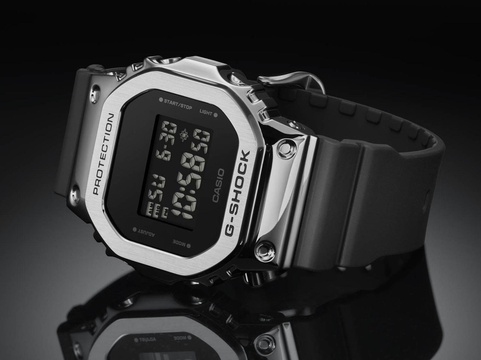 Introducing The G Shock Gm 5600 Capped In Stainless Steel Sjx Watches