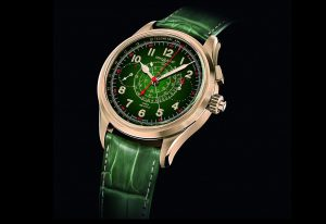 Montblanc Introduces the 1858 Split Second Chronograph with a Jade Dial