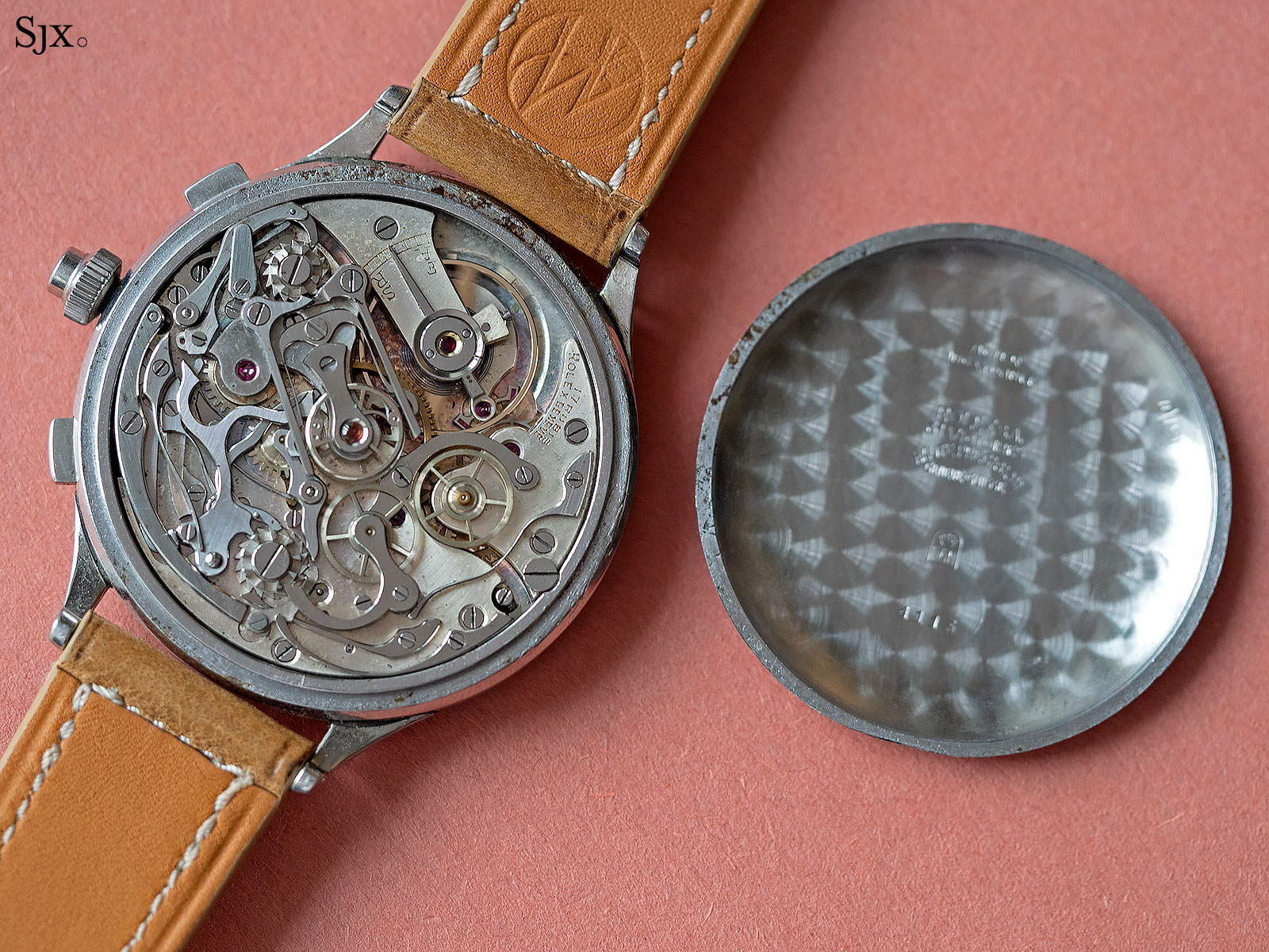 Rolex 4113 split seconds chronograph 10