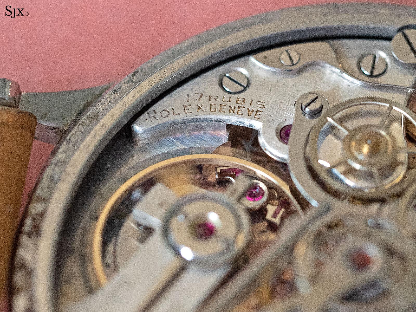 Rolex 4113 split seconds chronograph 17