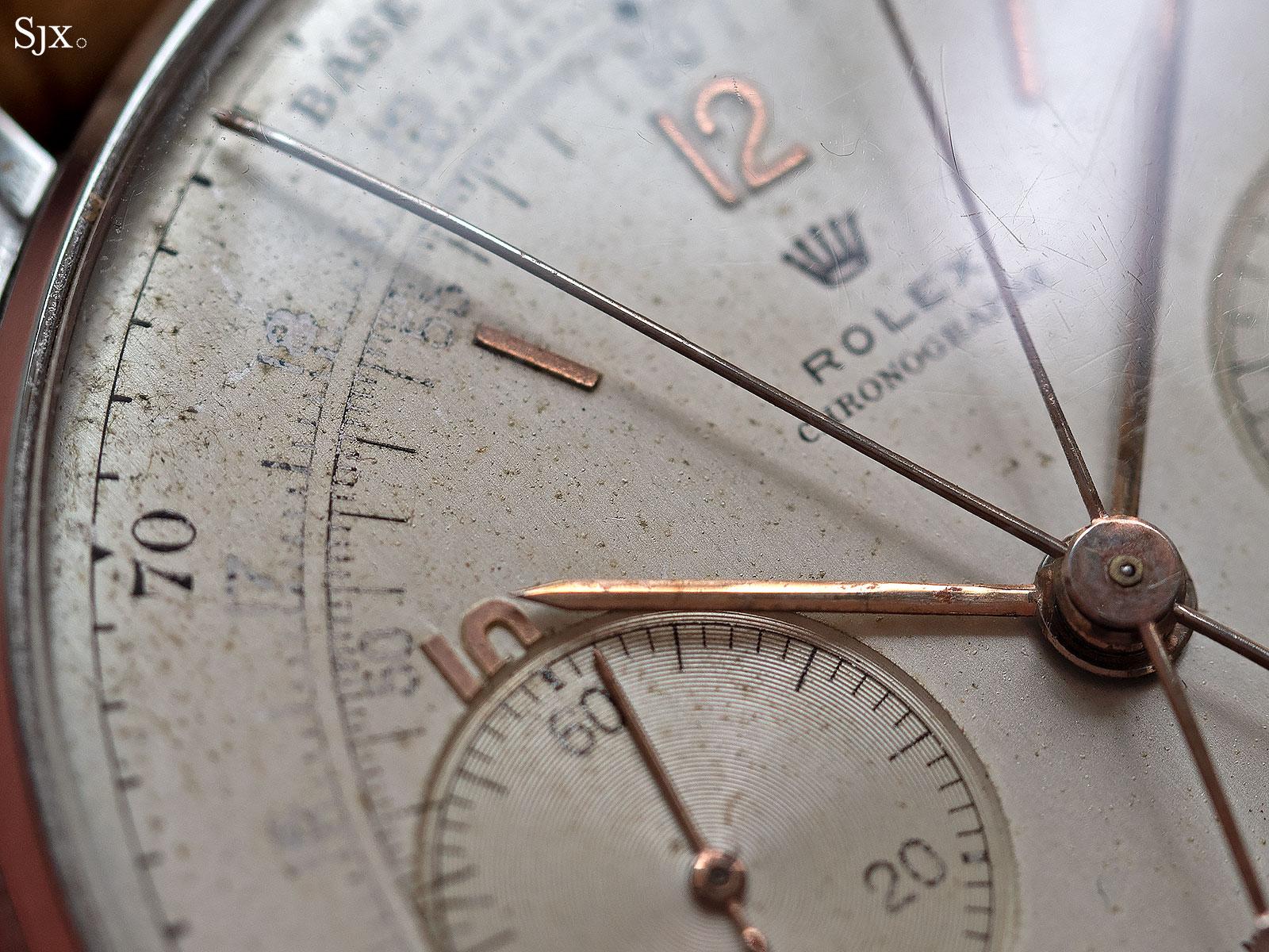 Rolex 4113 split seconds chronograph 4