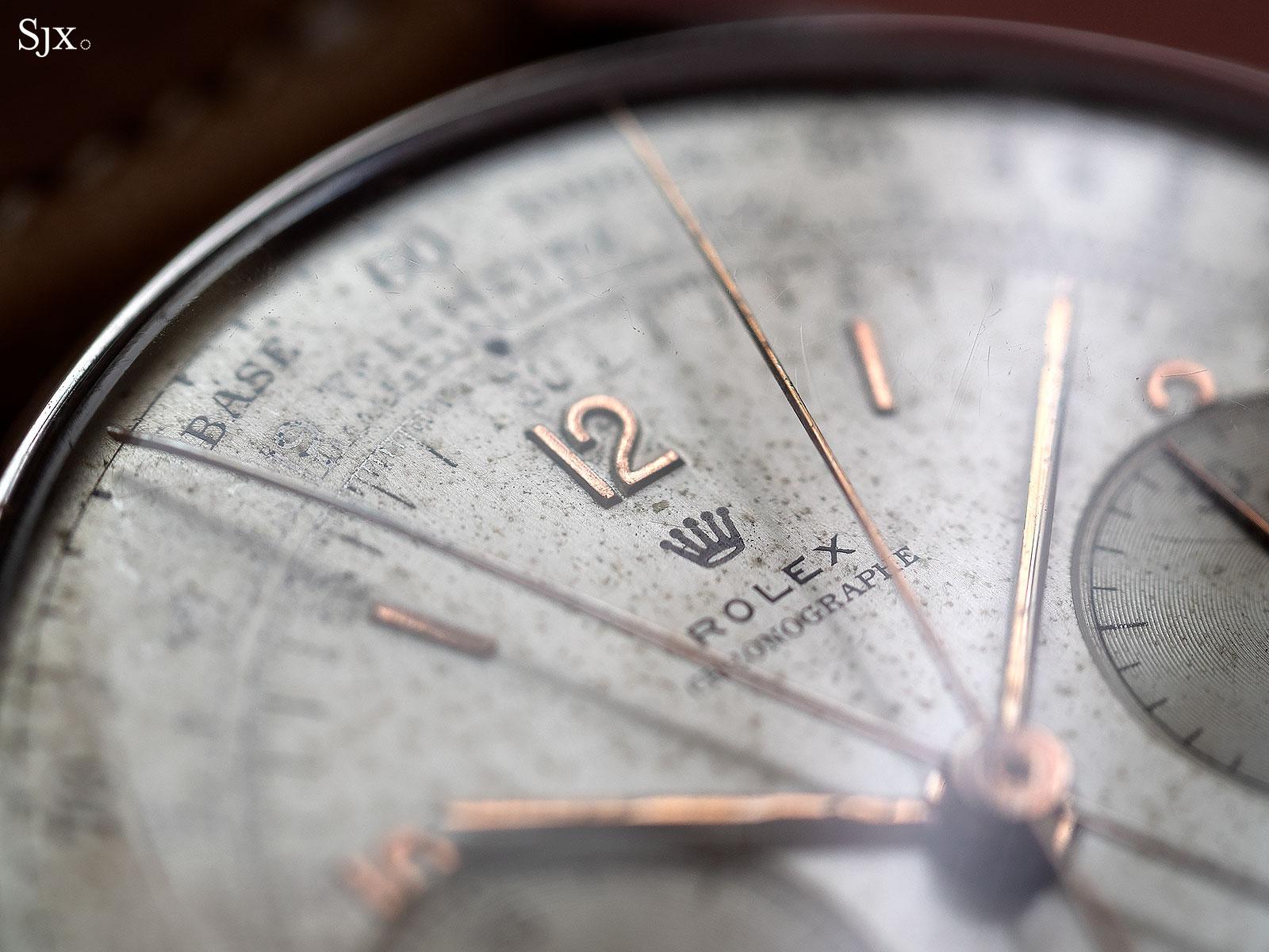 Rolex 4113 split seconds chronograph 6