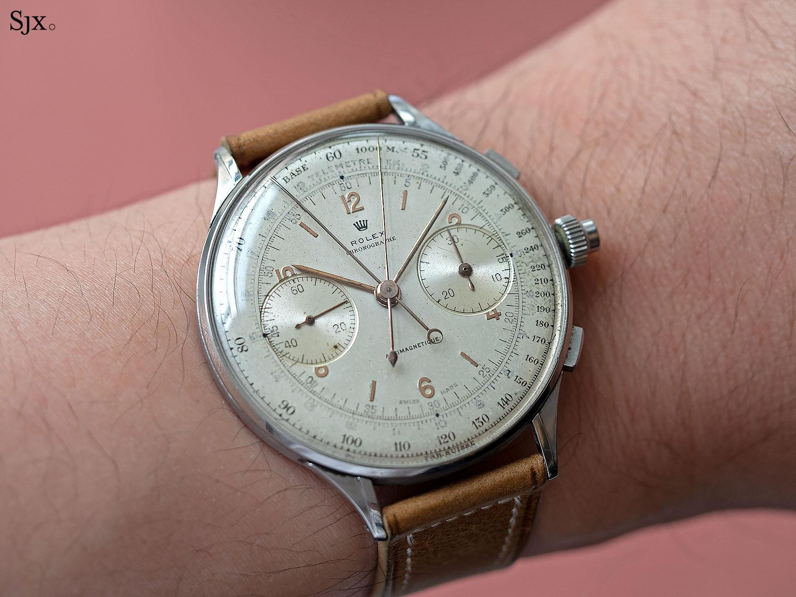Rolex 4113 split seconds chronograph 8