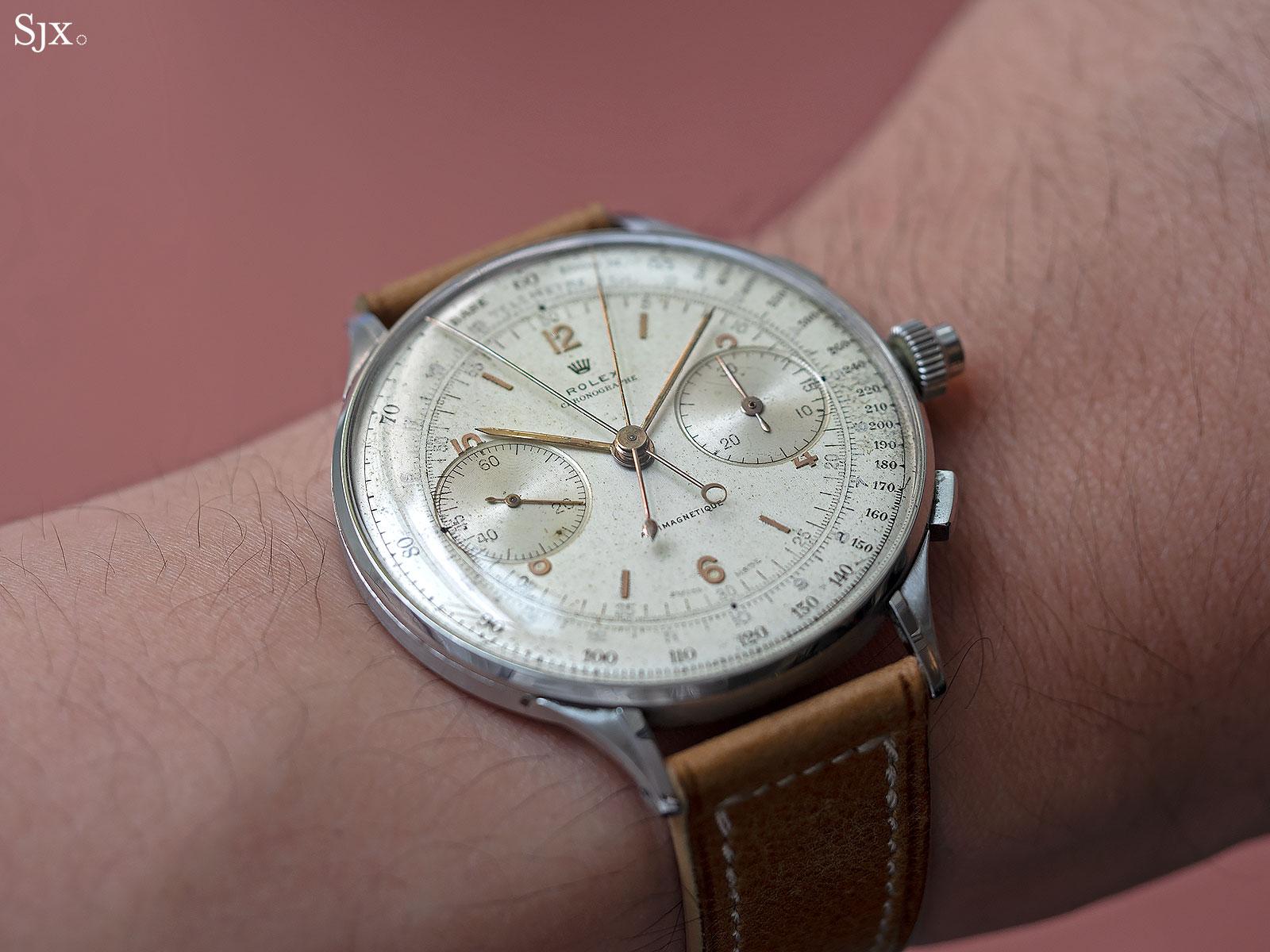 Rolex 4113 split seconds chronograph 9