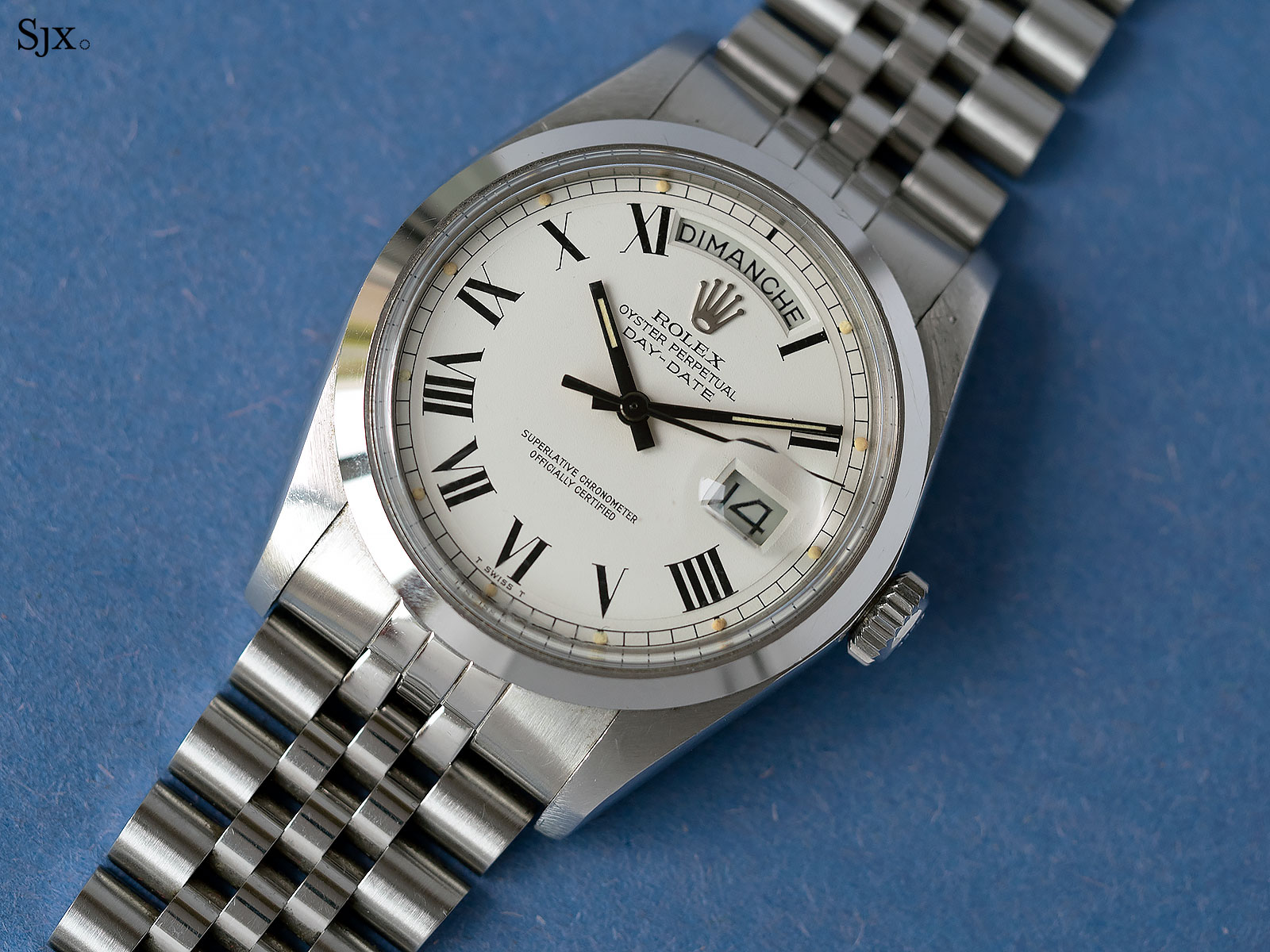 Rolex Day-Date prototype steel phillips 1