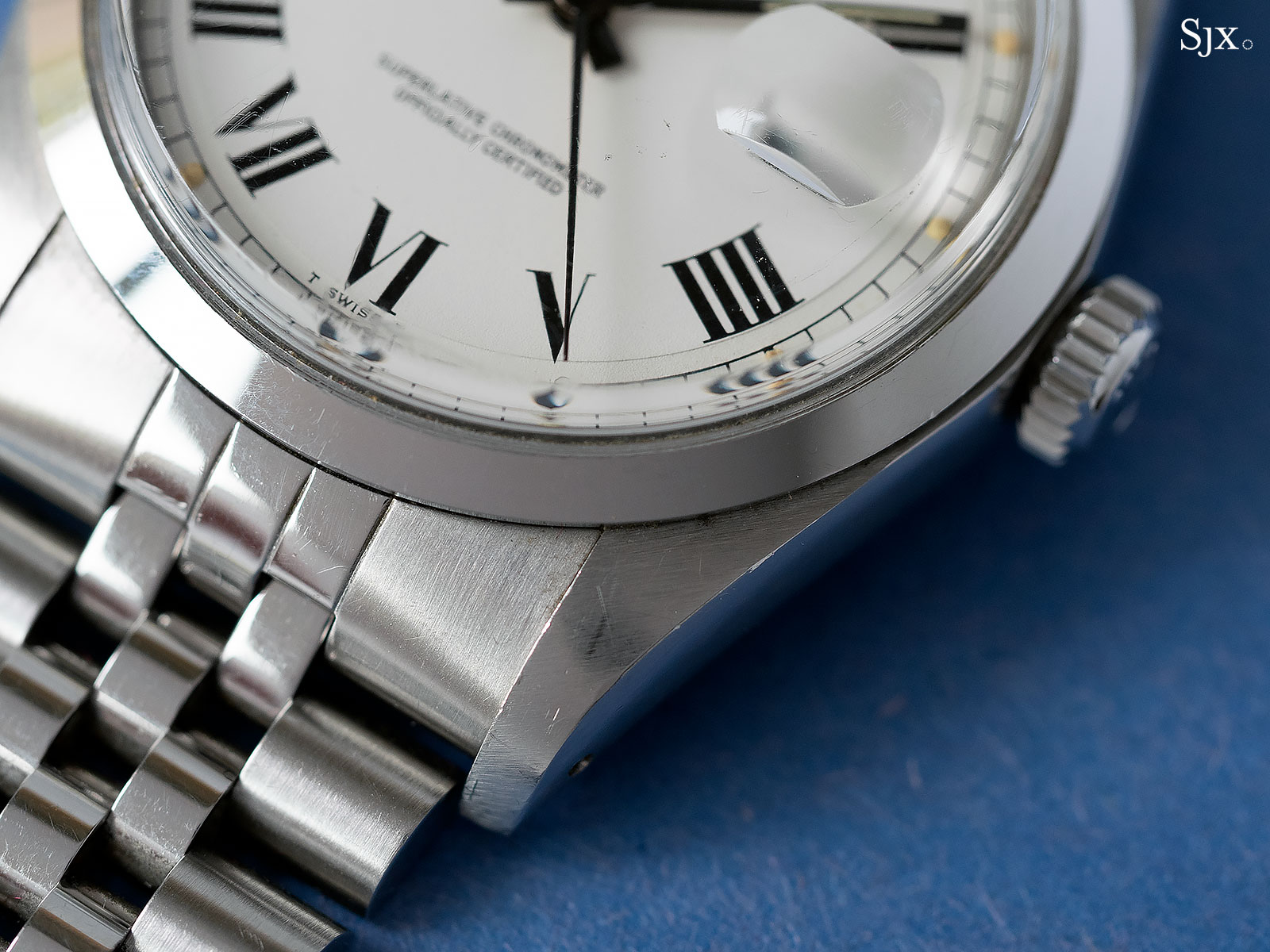 Rolex Day-Date prototype steel phillips 2