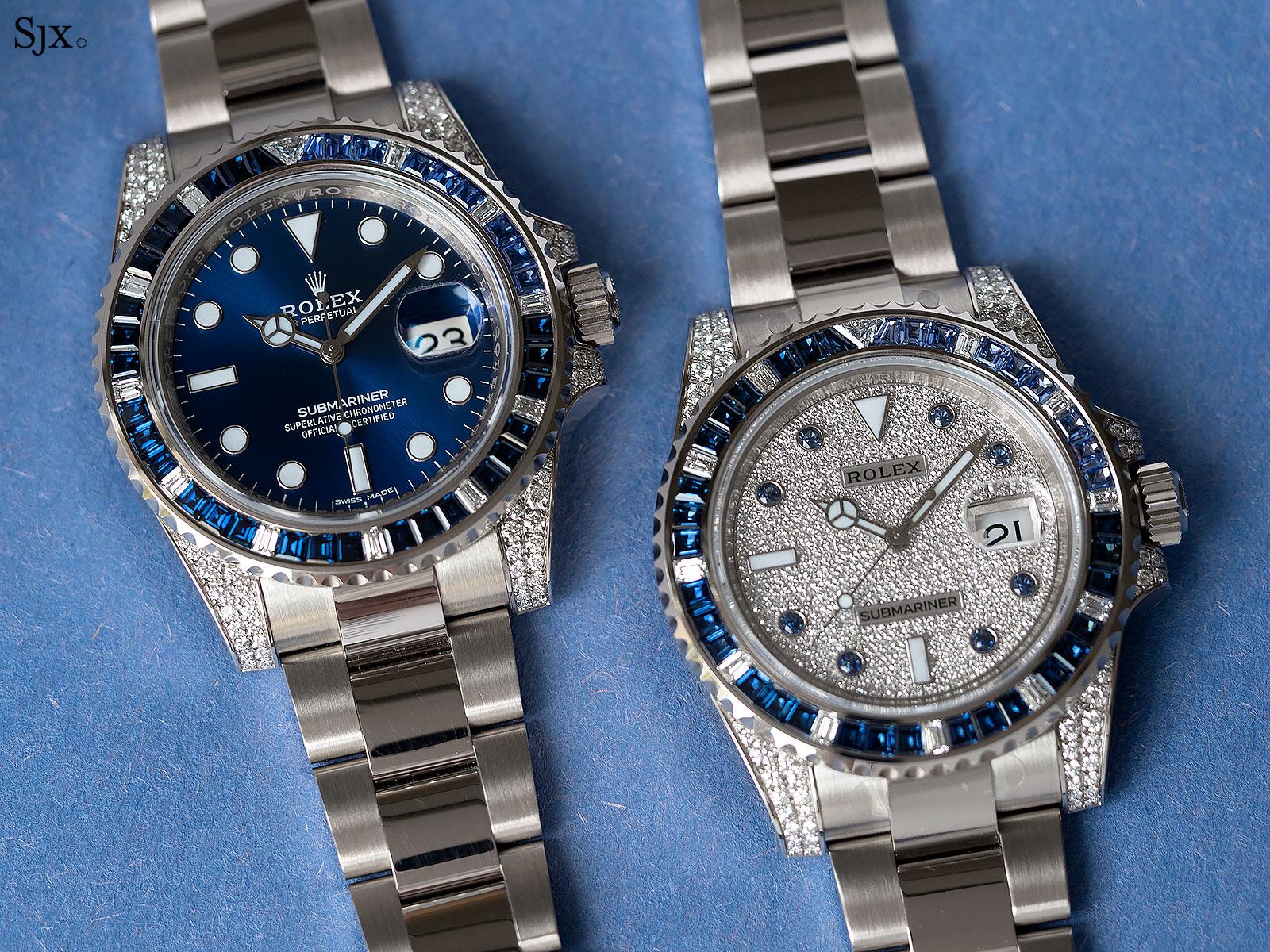 Rolex Submariner 116659SABR blue sapphires 1
