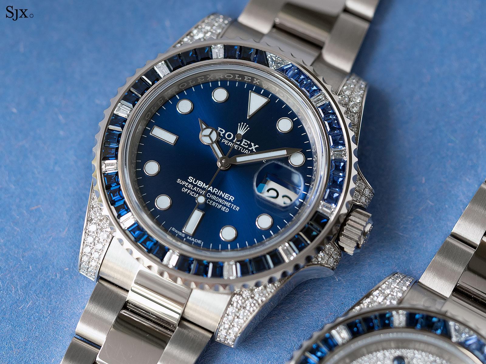 Rolex Submariner 116659SABR blue sapphires 2