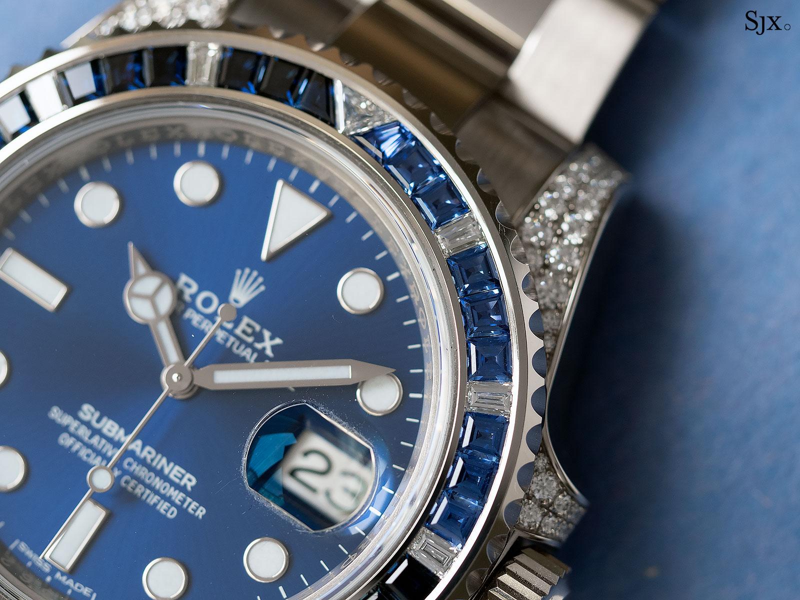 Rolex Submariner 116659SABR blue sapphires 3