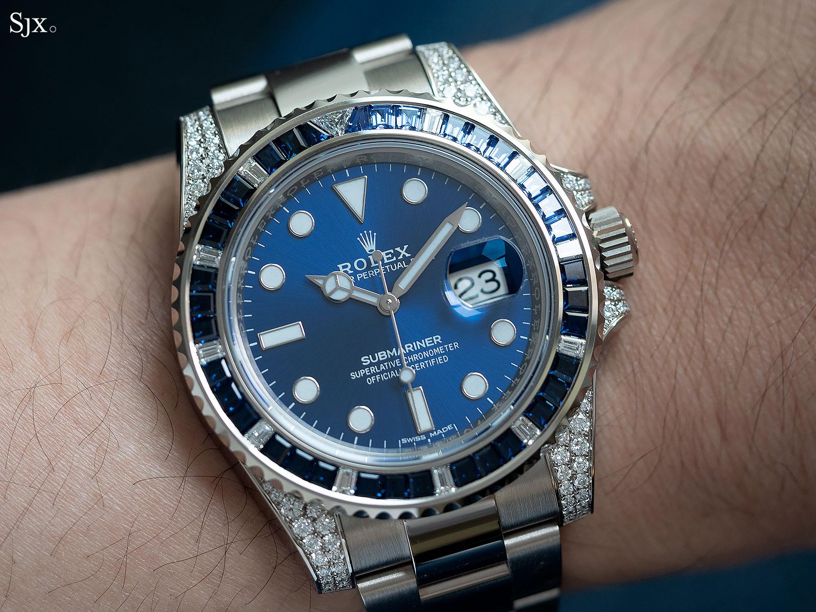 Rolex Submariner 116659SABR blue sapphires 5