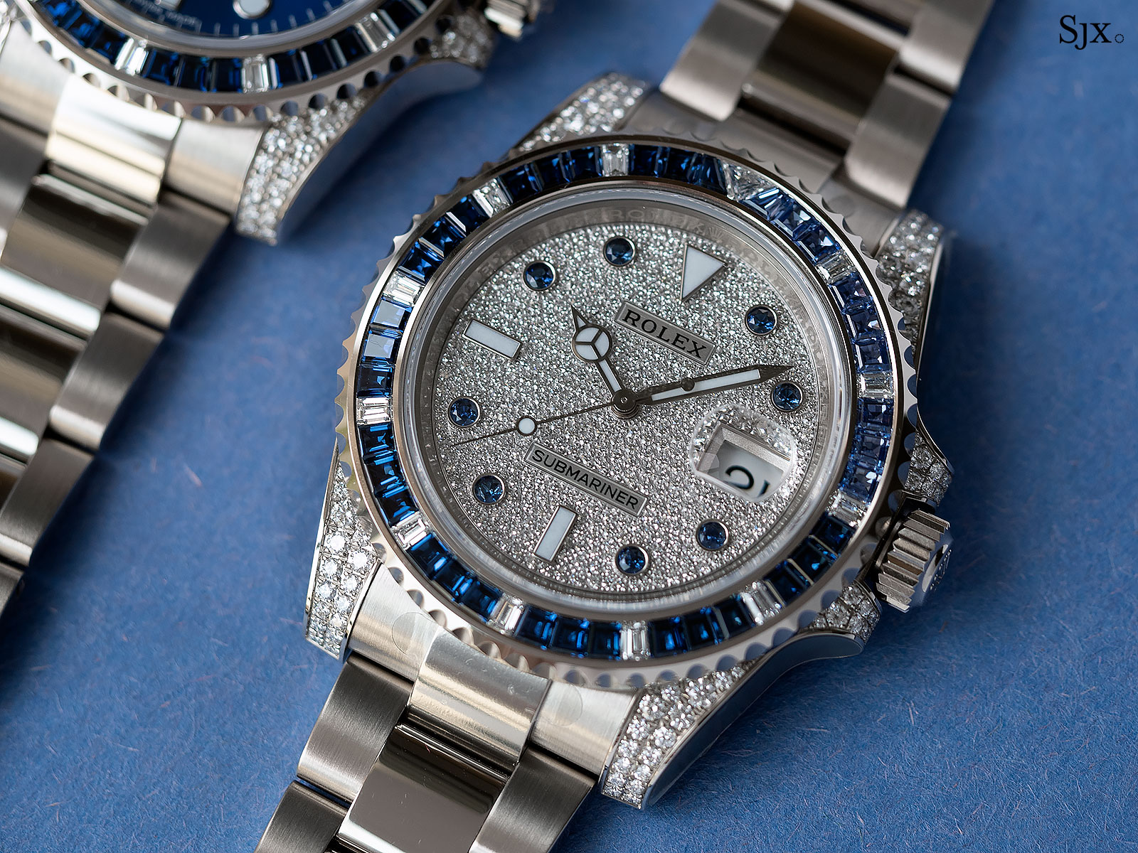 Rolex Submariner 116659SABR blue sapphires diamonds 1