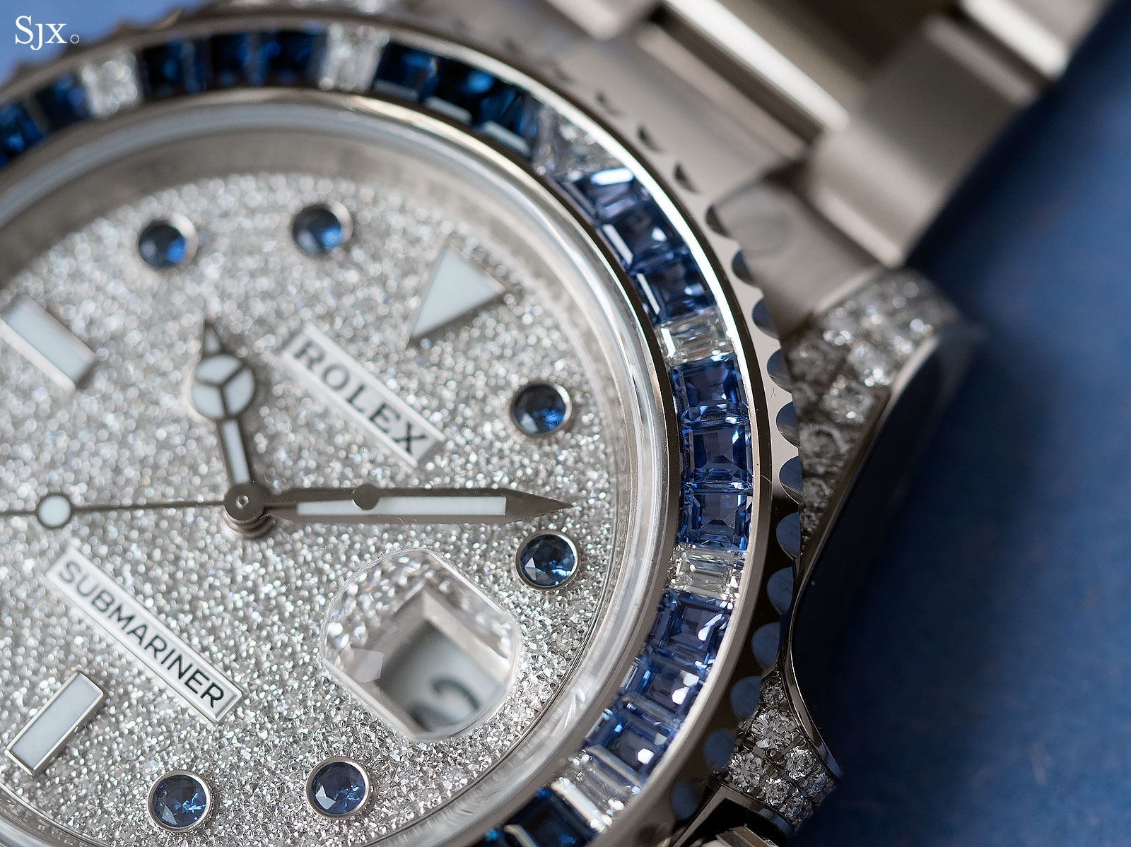 Rolex Submariner 116659SABR blue sapphires diamonds 2