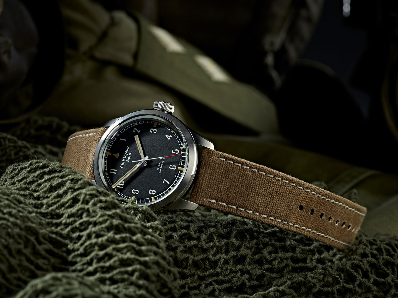 Christopher Ward Introduces the Military Collection