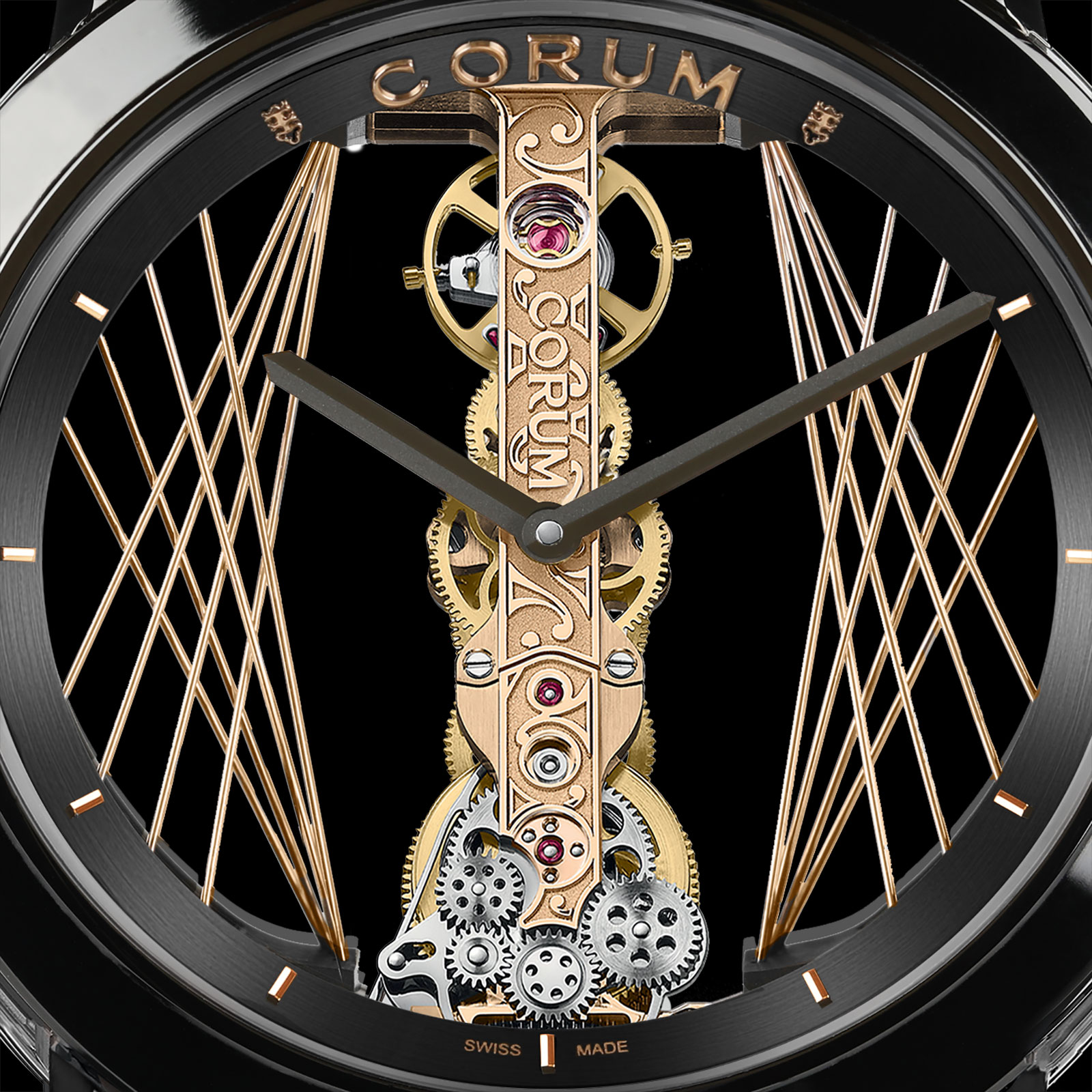 corum Golden Bridge Round 43 1