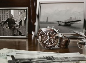 """IWC Introduces the Pilot's Watch Timezoner Chronograph """"80 Years Flight to New York"""""""
