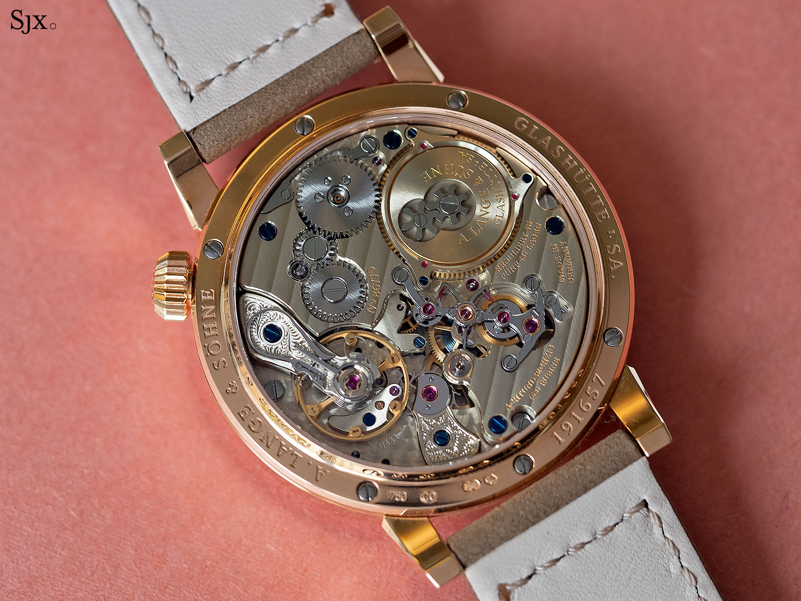 lange zeitwerk rose gold phillips gwa 3