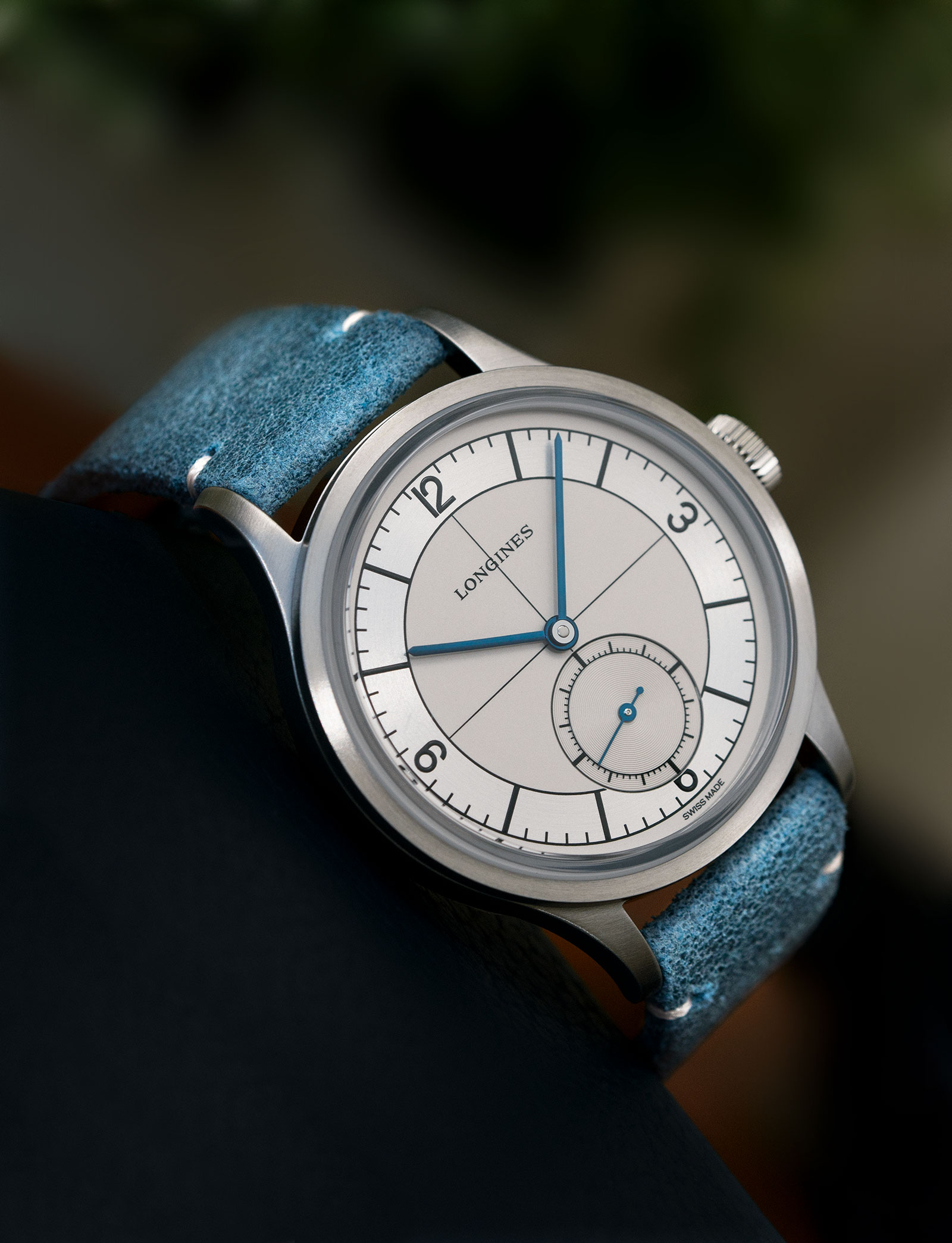 longines Heritage Classic Sector Dial 4