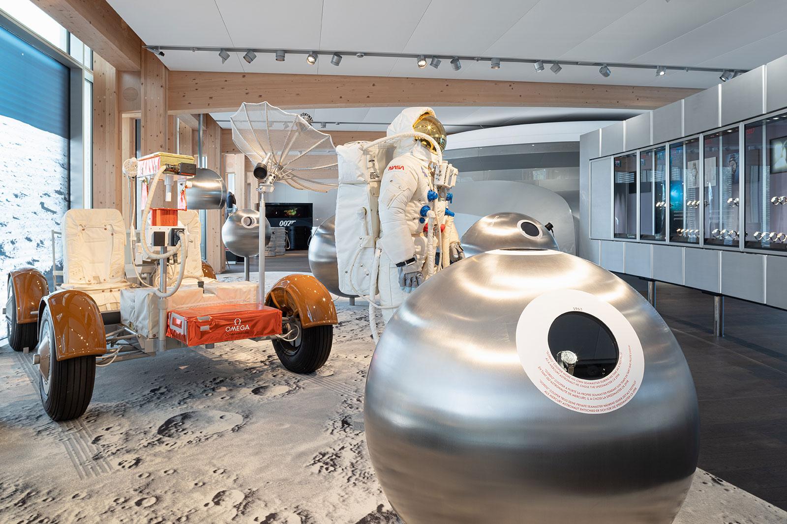 omega museum moon landing nasa