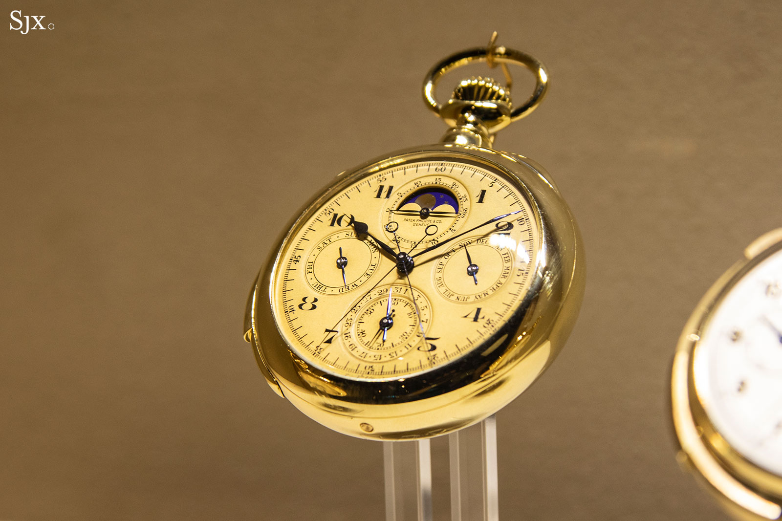 patek grand exhibition singapore 2019 grand comp pocket watch