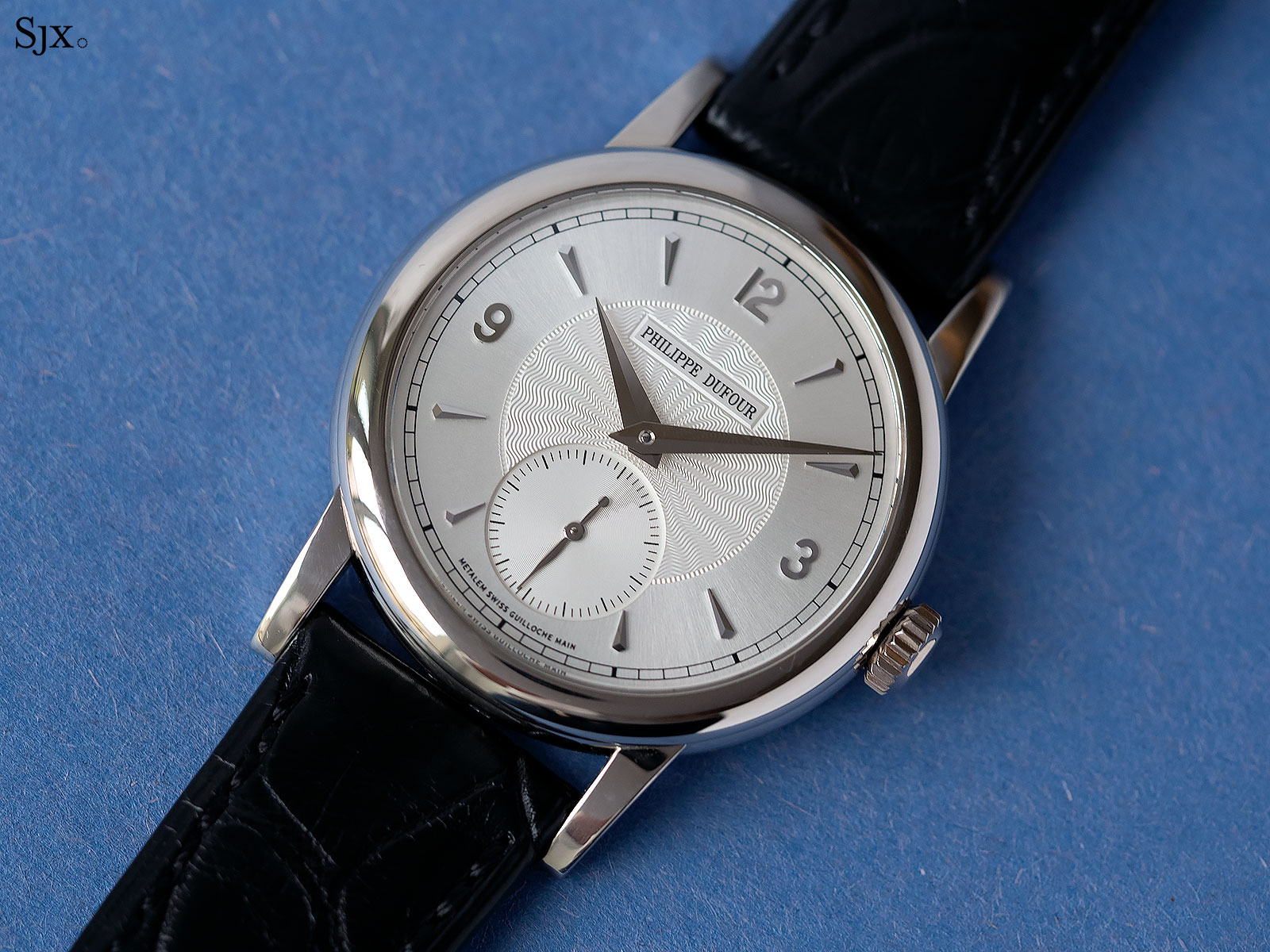 philippe dufour simplicity white gold 37mm 1