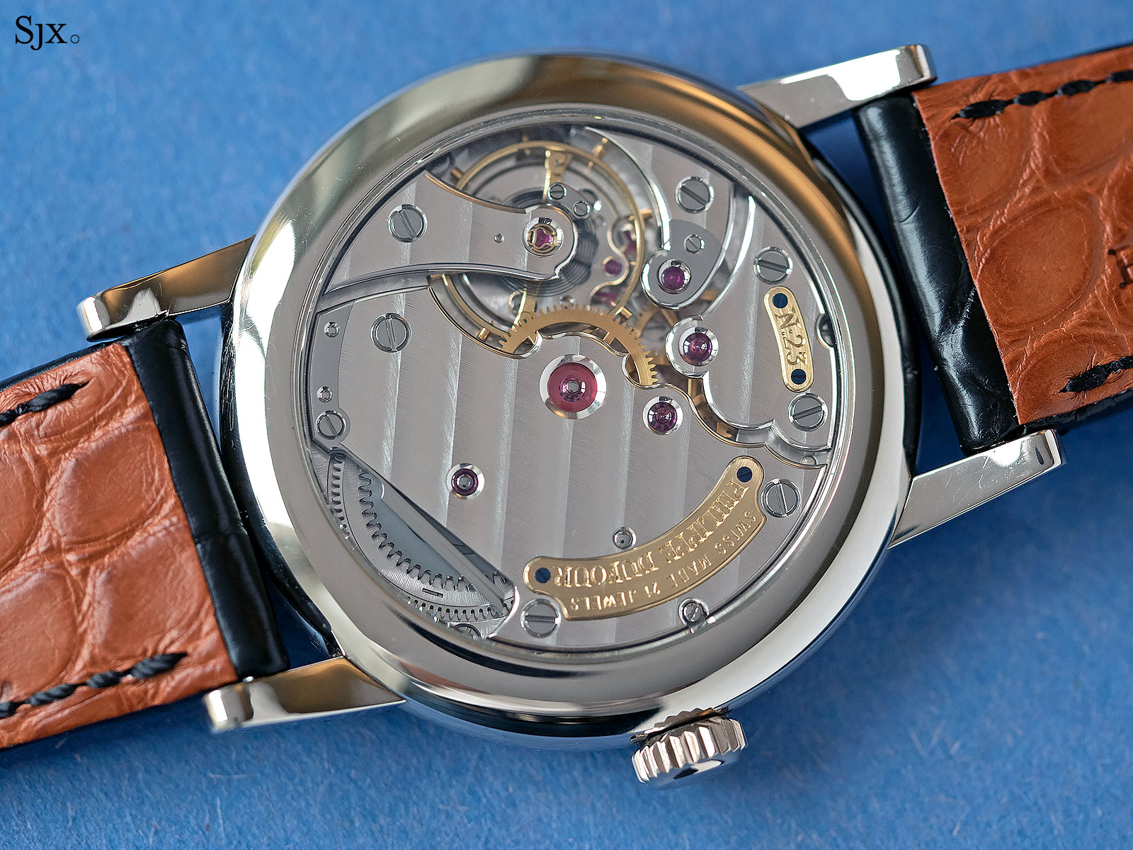 philippe dufour simplicity white gold 37mm 7