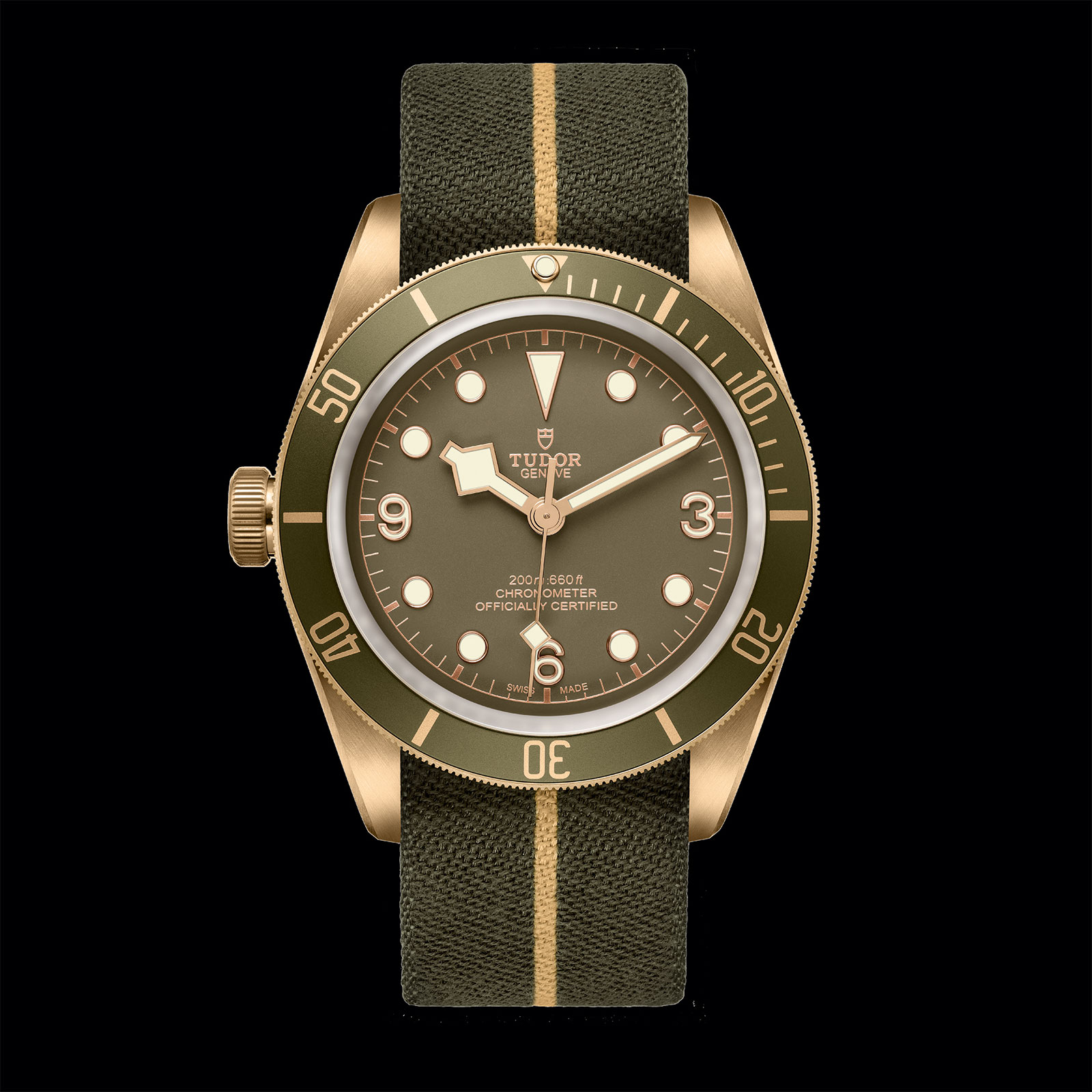 tudor black bay bronze one only watch