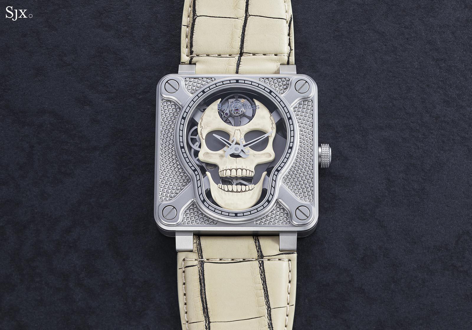 Hands-On: Bell & Ross BR 01 Laughing Skull White