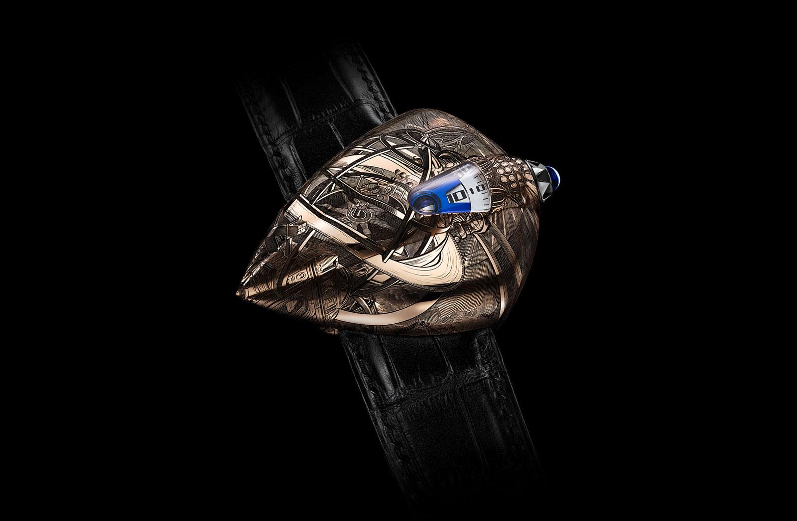 De Bethune Introduces the Maestri'Art DW5 Armilia | SJX Watches