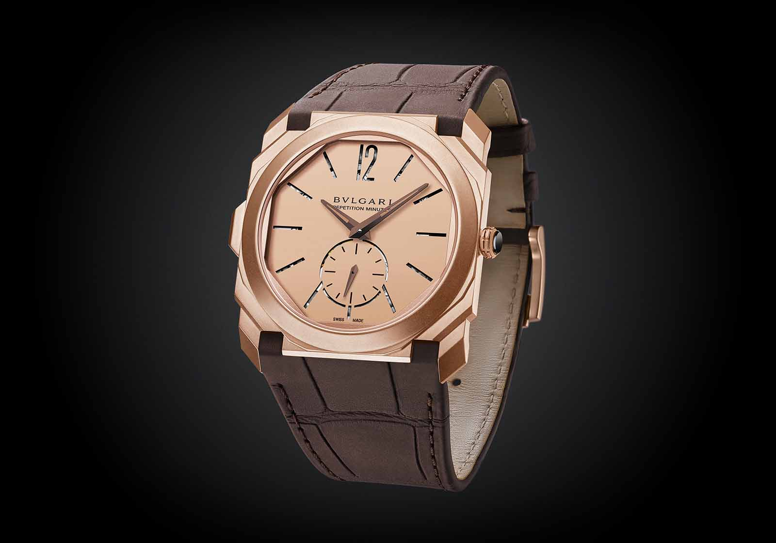 Bulgari Introduces the Octo Finissimo Minute Repeater in Rose Gold | SJX Watches