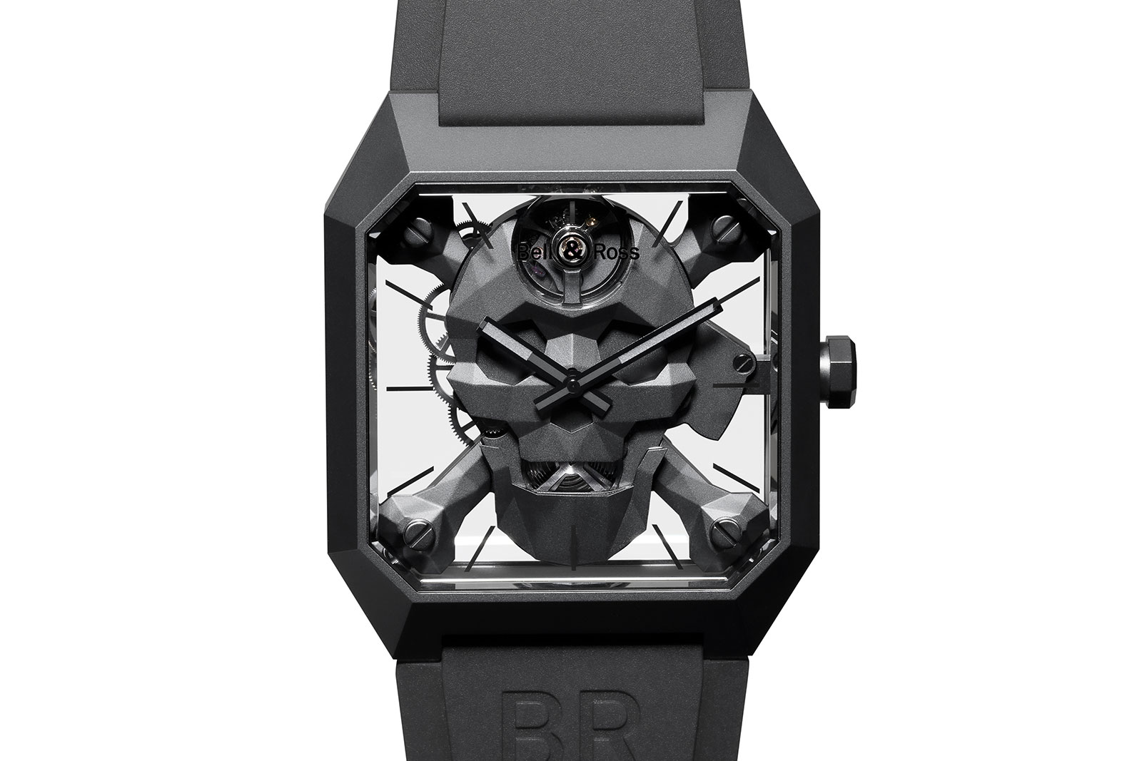 Bell Ross Introduces The Br 01 Cyber Skull Sjx Watches