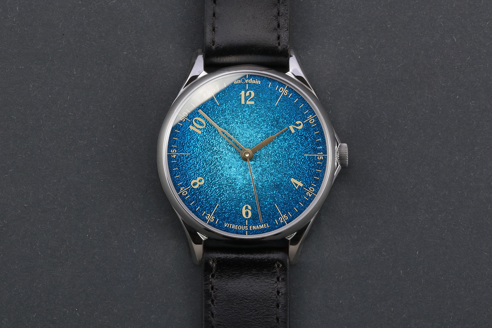 Anordain Introduces the Model 1 Fumé   SJX Watches